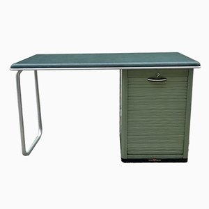 Industrial Tubular Steel Desk from Obbo, 1950s