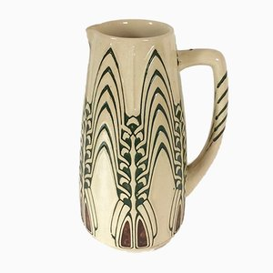 Antique Model 1205 Pitcher by Peter Behrens for Simon Gerz