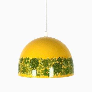Lampe à Suspension Kalas par Kaj Franck & Raija Uosikkinen pour Fog & Mørup and Arabia, 1960s