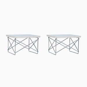 LTR Side Table by Charles & Ray Eames for Vitra, 1960s, Set of 2