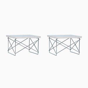 Tavolino LTR di Charles & Ray Eames per Vitra, anni '60, set di 2