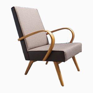 Sessel aus Bugholz von TON, 1960er