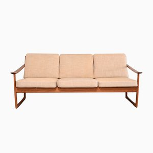 Vintage Teak FD 130 Sofa by Peter Hvidt & Orla Mølgaard for France & Son