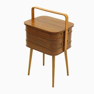 Sewing Box with Tapered Legs, 1960s