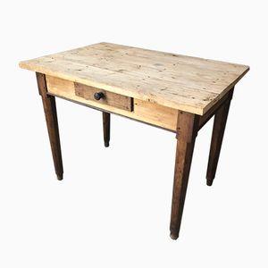 Vintage French Wooden Desk