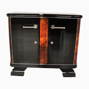 French Commode with Burl Details, 1920s