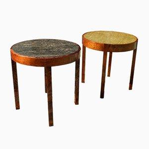Vintage Side Tables by Axel Einar Hjorth for Nordiska Kompaniet, Set of 2