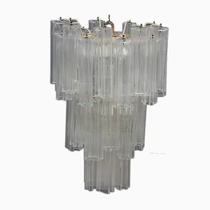 Lámpara de araña Mid-Century de Venini, años 60