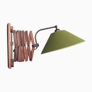 Lámpara de pared articulada, años 50