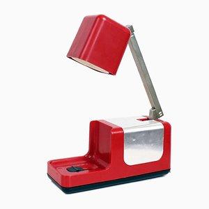 Lámpara de escritorio telescópica de Solis, años 60