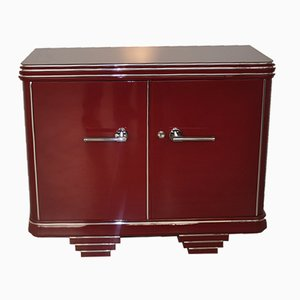 Commode Rouge Vintage, 1920s