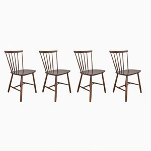 Mid-Century Danish Dining Chairs from Farstrup Møbler, 1960s, Set of 4