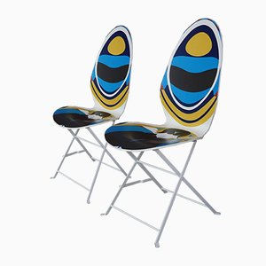 Stühle von Christian Lacroix, 2er Set, 2008