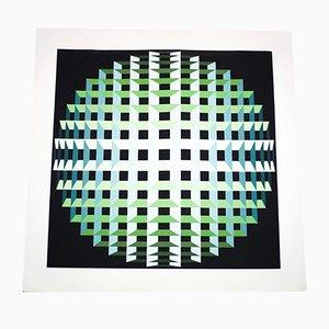 Serigrafía de Jean-Pierre Vasarely, 1970
