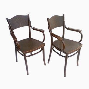 Stühle von Thonet, 1920er, 2er Set