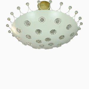 Deckenlampe von Emil Stejnar für Rupert Nikoll, 1950er