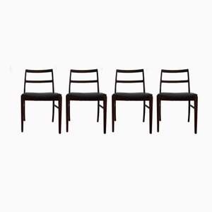 Danish Model 430 Rosewood Dining Chairs by Arne Vodder for Sibast, 1960s, Set of 4