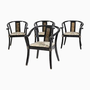 Vintage Chairs from Versace, Set of 4