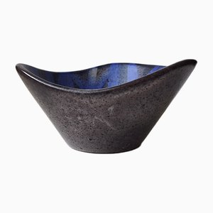 Scandinavian Modern Ceramic Bowl by Herne Nielsen, 1960s