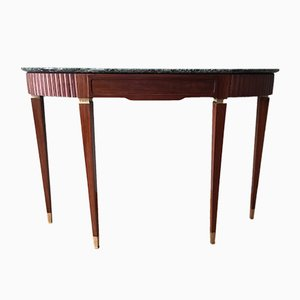 Marble Top Console, 1950s