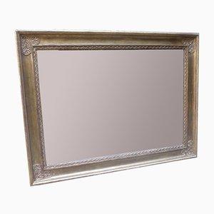 Espejo Art Déco dorado, años 20
