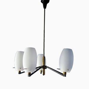 Lámpara de araña de Stilnovo, años 50