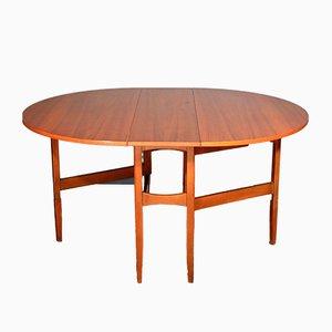 Mid-Century Drop Leaf Table in Teak