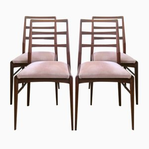 Mid-Century Afromosia Chairs by Richard Hornby for Fyne Ladye, Set of 4