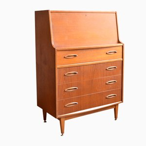 Mid-Century British Secretaire from Jentique