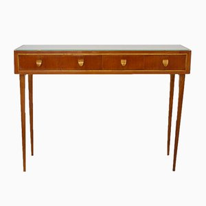 Cherry Wood Console, 1950s