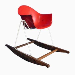 Rocking Chair pour Enfant par Walter Papst pour Wilkhahn, 1950s