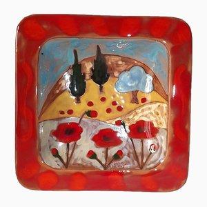 Ceramic Vide Poche by Martine Azema Fro Atelier Mazema, 1970s