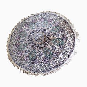 Großer runder orientalischer Vintage Teppich