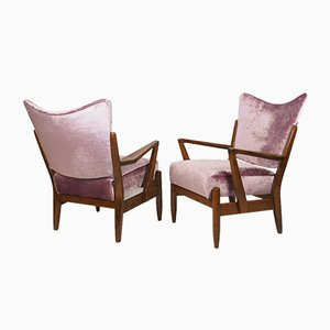 Mid-Century Lounge Chairs by Gunnar Eklöf for Asko, Set of 2