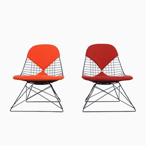 First Edition LKR Bikini Chairs by Charles & Ray Eames for Herman Miller, 1950s, Set of 2