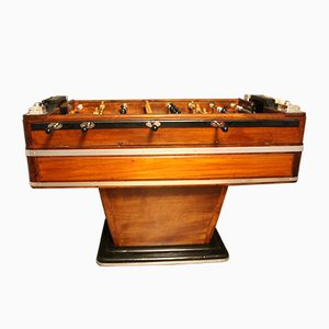 Wood & Aluminum Foosball Table, 1930s