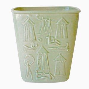 Enfriador de vino vintage de porcelana de Carl-Harry Stålhane para Rörstrand