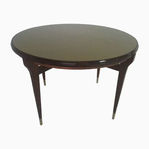 Round Dining Table from Caltagirone, 1950s