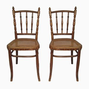 Bistro Chairs by Josef Hoffmann, 1920s, Set of 2