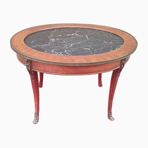 Antique French Coffee Table from Caltagirone