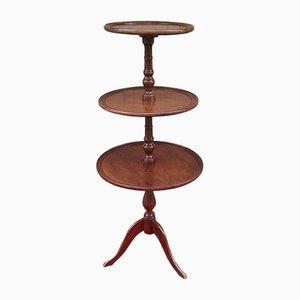 Tavolino antico a tre livelli