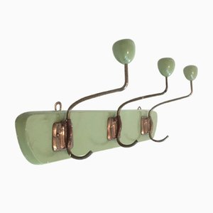 Green Mid-Century Clothes Rack