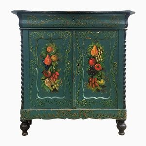 Vintage Hand-Painted Cabinet