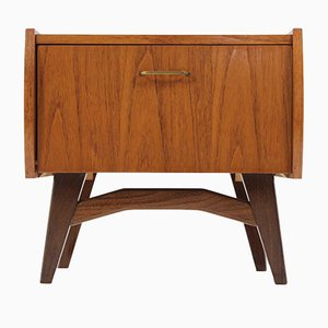 Small Danish Teak Side Table, 1960s