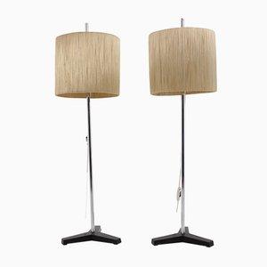 Adjustable Floor Lamps, 1970s, Set of 2