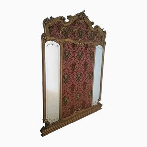 Perchero estilo Louis XV con espejo, década de 1900