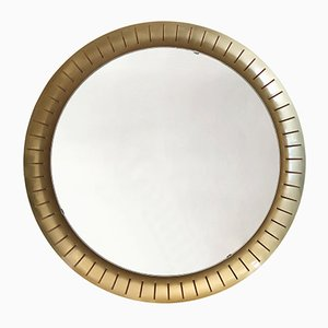 Large Mid-Century Modern German Backlit Wall Mirror from Hillebrand, 1950s