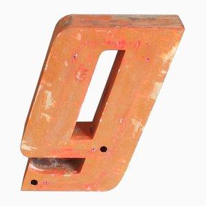 Vintage Metal Letter G