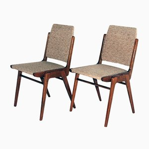 Austro Dining Chairs by Wiesner Hager, 1950s, Set of 6