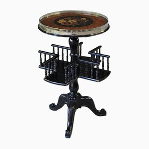 Victorian Ebonized Side Table